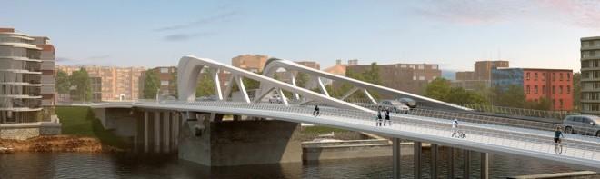 Victoria's Johnson Street Bridge Fly-Through