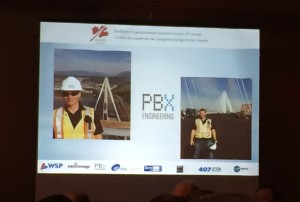 PBX Presentation at the Annual ITS Canada Conference and Exhibition, 2016