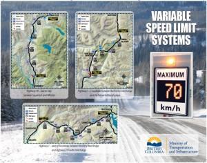 VSLS Corridors from the TranBC Website