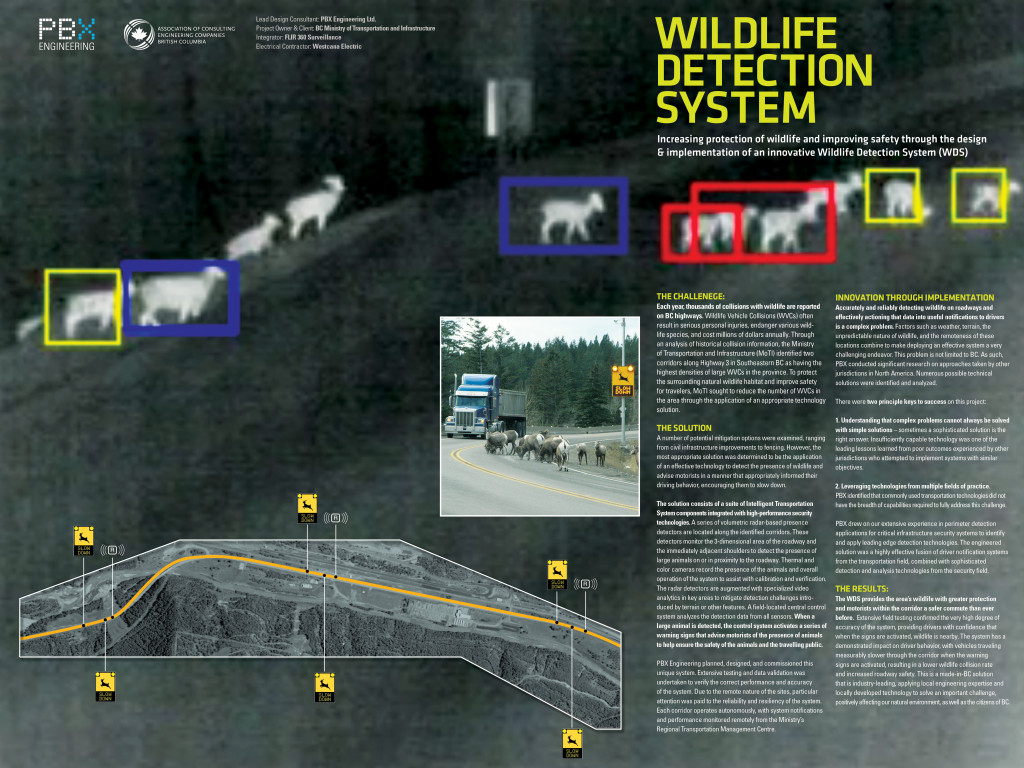 PBX Wildlife Detection System